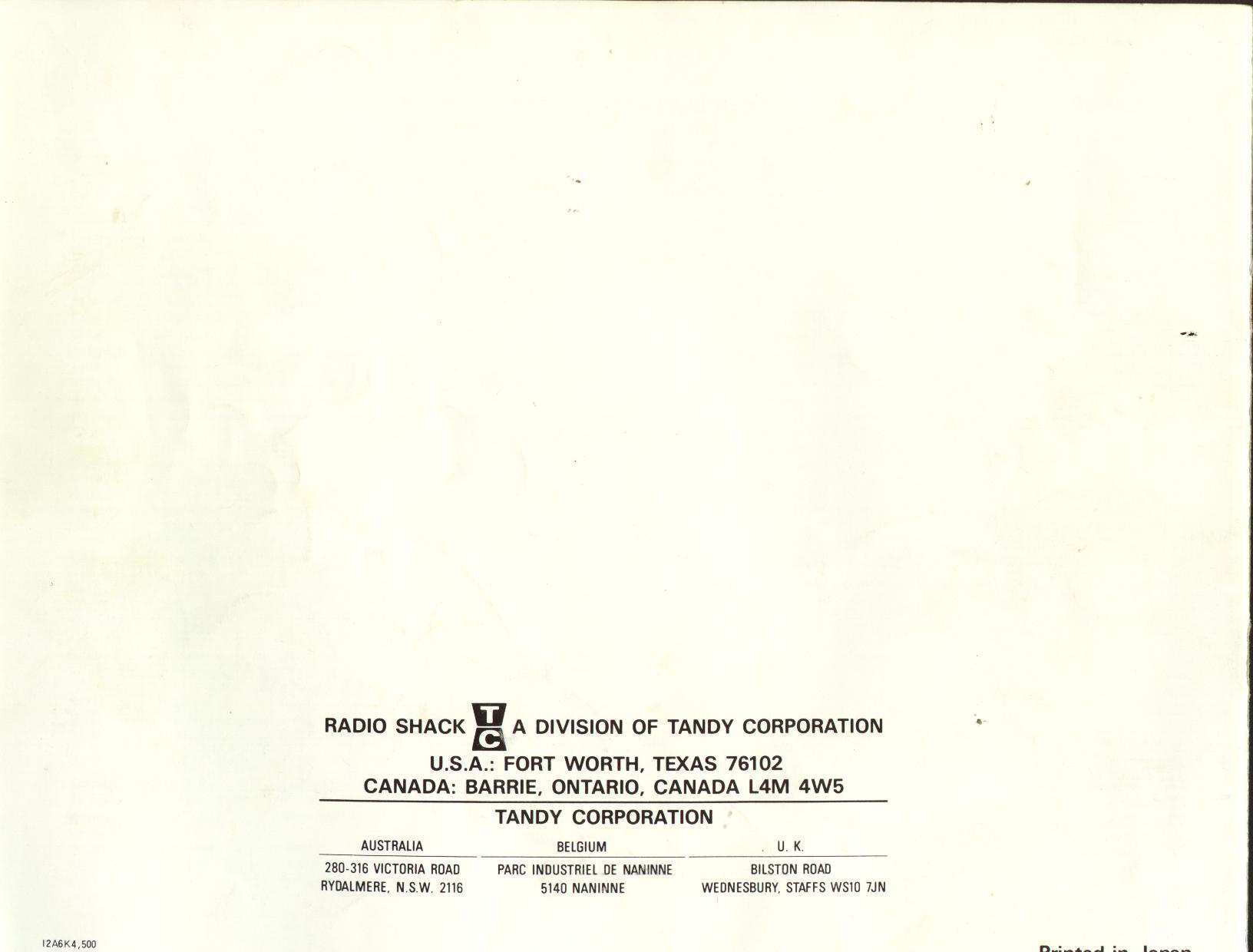 Index Of Onlinehelp Oem Radio Owners Manuals Radioshack Audio Wiring 326k Dx160 20